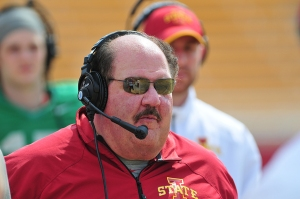 Mangino, Mark_Spring Game_2014_5