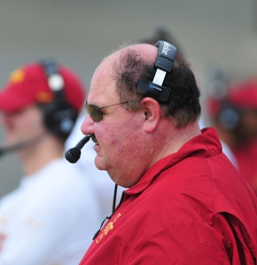 Mangino, Mark_Spring Game_2014_4